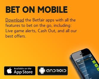 Betfair app