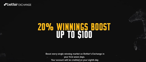 bonus code from Betfair