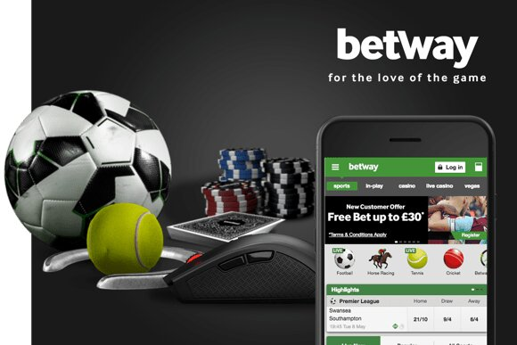 Betway new customer creates an account