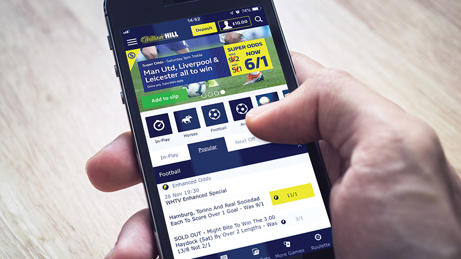 William Hill virtual prediction