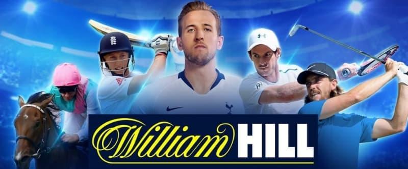 Mobile version of William Hill site