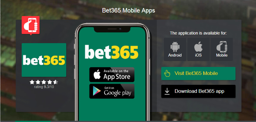 Bet365 login mobile