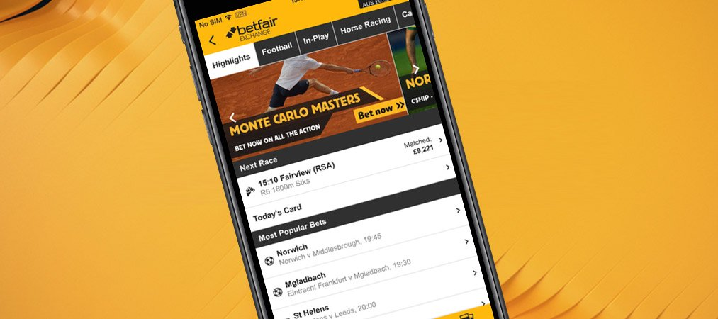 bet on Betfair full website